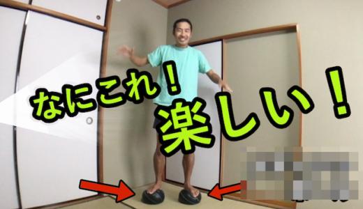 【動画あり】バランスボールより安全にスクワットできるグッズを偶然発見した!