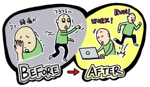 毎月断食を続けたら、頭痛・低血糖といった好転反応が激減した